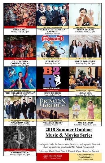 Outdoor Music & Movie Series